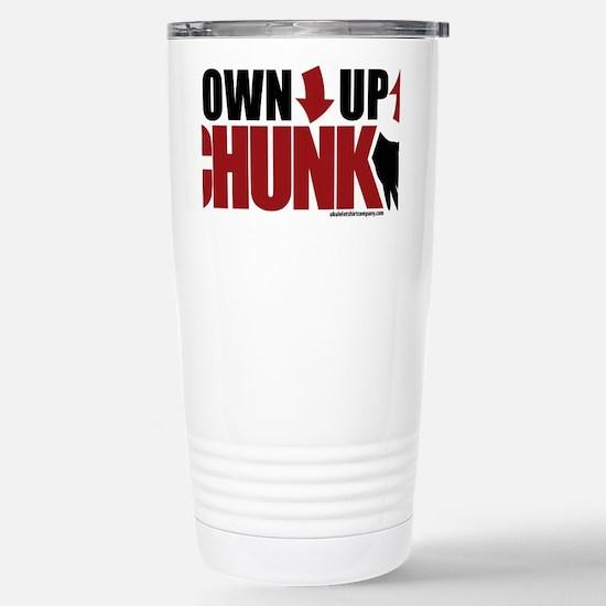Ukulele Chunk Stainless Steel Travel Mug