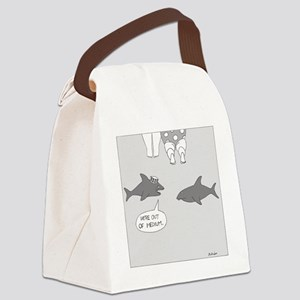 Were Out of Medium Canvas Lunch Bag