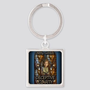 Deceptive Clarity Notecard Square Keychain