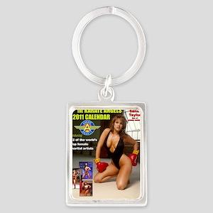 The_2011_Karate_Angels_Calendars Portrait Keychain