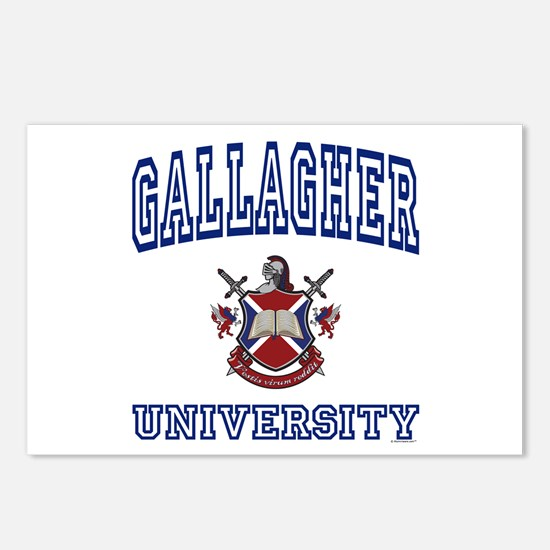 GALLAGHER University Postcards (Package of 8)