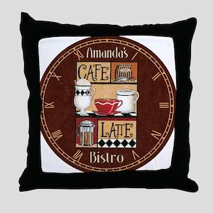 cafelatte Throw Pillow