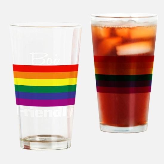 Boi-Friendly Drinking Glass