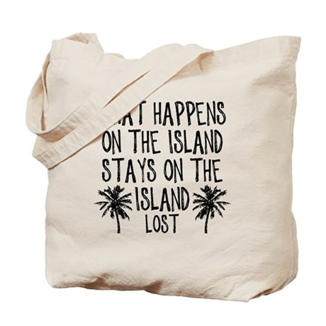 2-what happens on the island Tote Bag