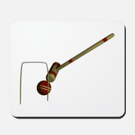 Croquet Game Mousepad