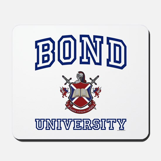 BOND University Mousepad