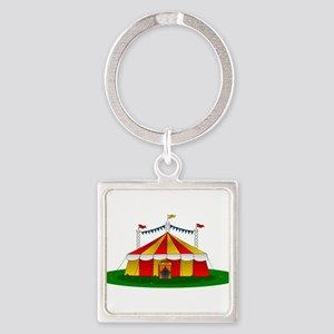 Circus Tent Keychains