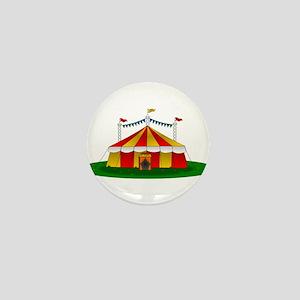 Circus Tent Mini Button