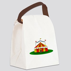 Circus Tent Canvas Lunch Bag