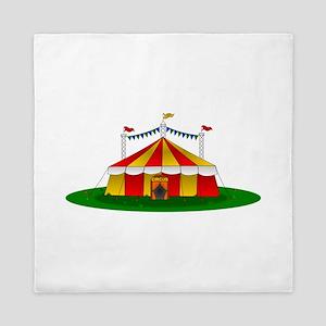 Circus Tent Queen Duvet