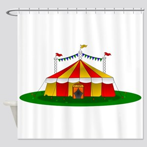 Circus Tent Shower Curtain