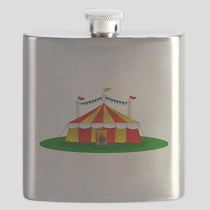 Circus Tent Flask