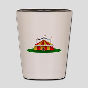 Circus Tent Shot Glass