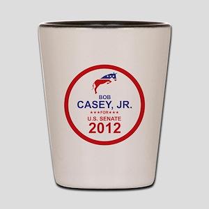 2012_bob_casey_main Shot Glass