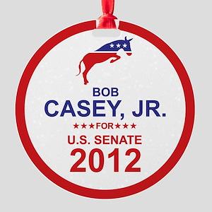 2012_bob_casey_main Round Ornament