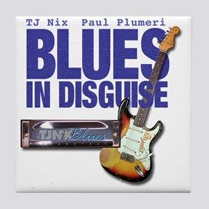Blues In Disguise for Lite Items LG Tile Coaster