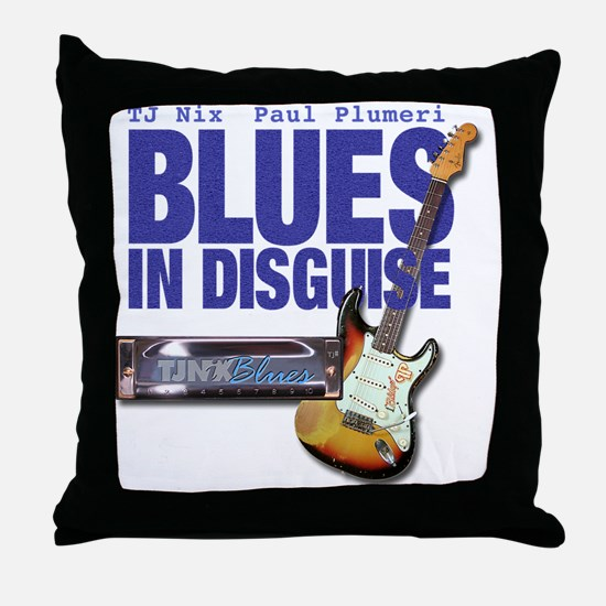 Blues In Disguise for Lite Items LG Throw Pillow