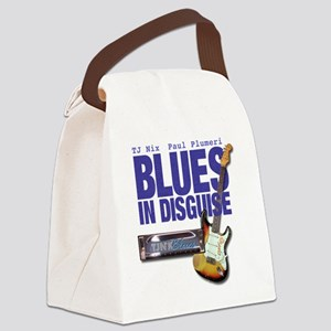 Blues In Disguise for Lite Items  Canvas Lunch Bag