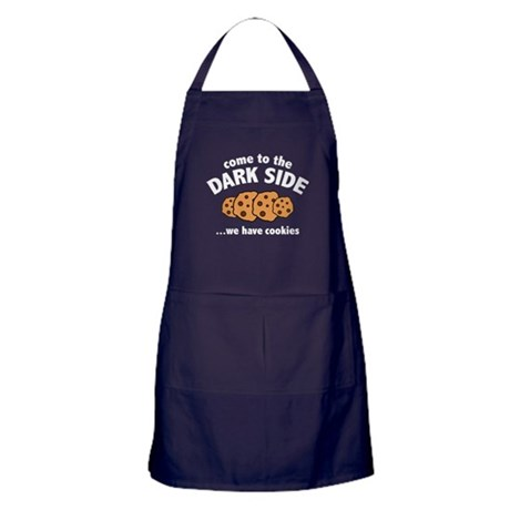Come To The Dark Side Apron (dark)