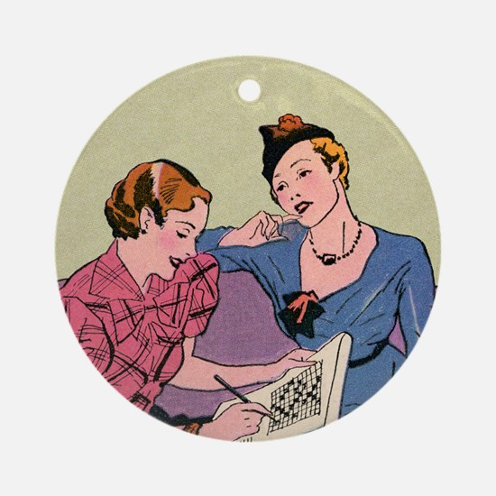 mouse pad_big_2 Round Ornament