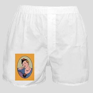 oval_ornament_sml_2 Boxer Shorts