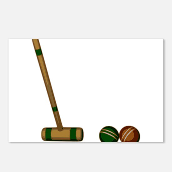 Croquet Game Postcards (Package of 8)