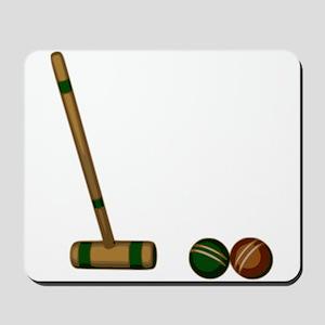 Croquet Game Mousepad