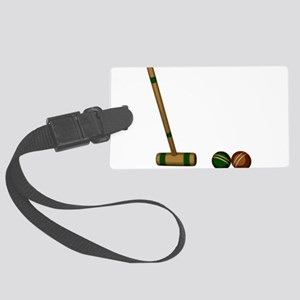 Croquet Game Luggage Tag