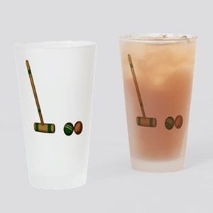 Croquet Game Drinking Glass