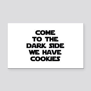 Come To The Dark Side Rectangle Car Magnet