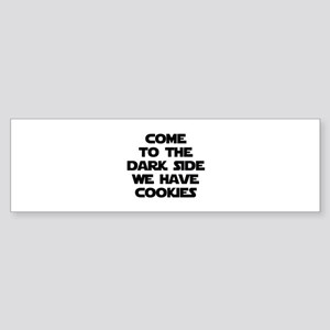 Come To The Dark Side Sticker (Bumper)