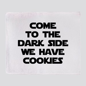 Come To The Dark Side Stadium Blanket
