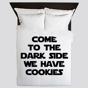 Come To The Dark Side Queen Duvet