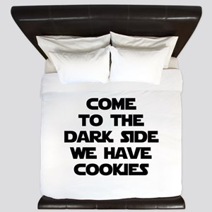 Come To The Dark Side King Duvet