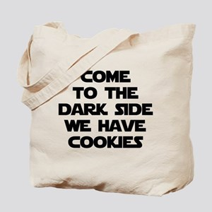Come To The Dark Side Tote Bag