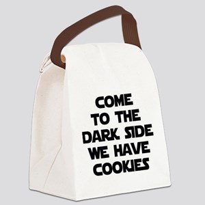 Come To The Dark Side Canvas Lunch Bag