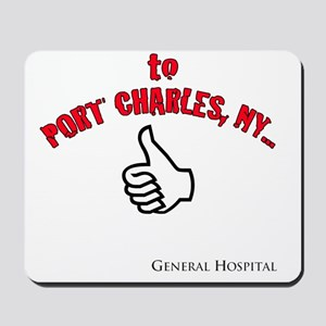 Port Charles Hitchhiker Mousepad