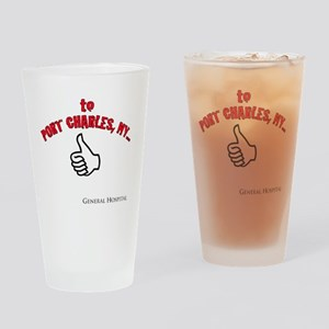 Port Charles Hitchhiker Drinking Glass