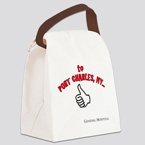 Port Charles Hitchhiker Canvas Lunch Bag