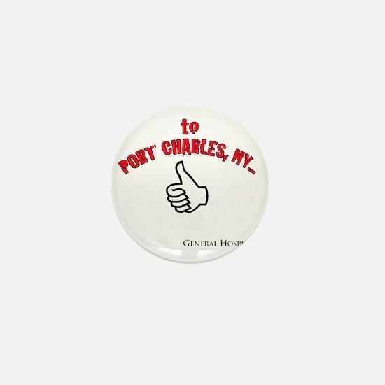 Port Charles Hitchhiker Mini Button