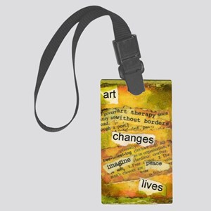 ATCMalchiodiArtChanges Large Luggage Tag