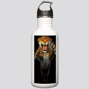 Leaping Leopard large  Stainless Water Bottle 1.0L
