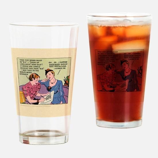 BOX_TILE_bg Drinking Glass