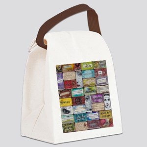 CollageSheet1 Canvas Lunch Bag