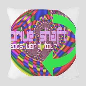 driveshaft world tour 2005 fra Woven Throw Pillow