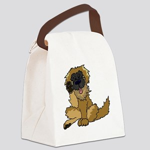 Leonberger cartoon Canvas Lunch Bag