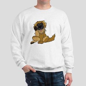 Leonberger cartoon Sweatshirt
