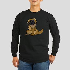 Leonberger cartoon Long Sleeve Dark T-Shirt