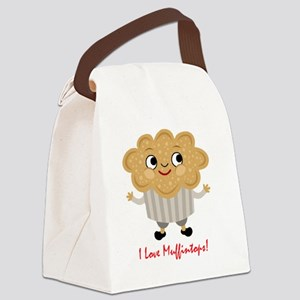 Muffintop Canvas Lunch Bag