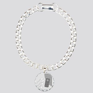 No Moleste Charm Bracelet, One Charm
